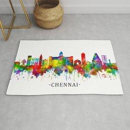 Chennai Tamil Nadu Skyline Rug