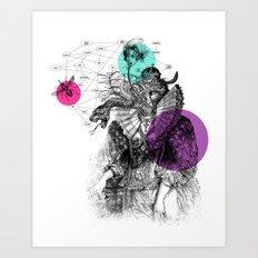 Le rêve de Madame K. Art Print