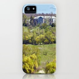 Mansion on the island iPhone Case