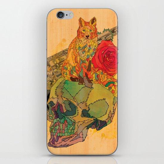 Fox & Rose iPhone & iPod Skin