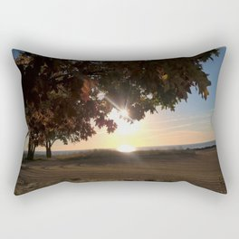 Nine Oclock Sunrise Kenosha Rectangular Pillow