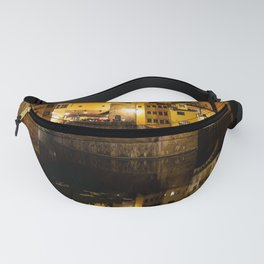 Ponte Vecchio - Florence by night Fanny Pack