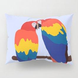 Scarlet Macaw Pillow Sham