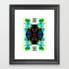 BSTRCT06 Framed Art Print