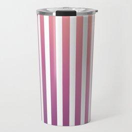 pastel stripes or pinstripes Travel Mug