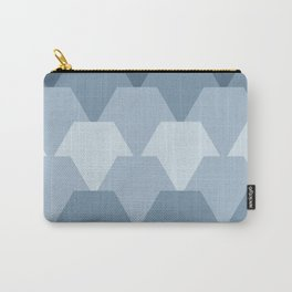 Blue fish scales Carry-All Pouch