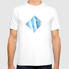 Ramiel Thunder of God Vector Angel Art from Evangelion Anime Series. White Mens Fitted Tee SMALL