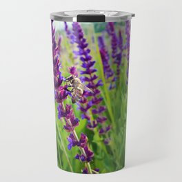 sage salvia meadow Travel Mug