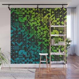 Digital Inkblot Wall Mural