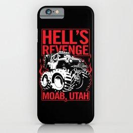 Hell's Revenge Moab Utah Off Road 4x4 Adventure iPhone Case