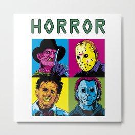 Pop Horror Metal Print