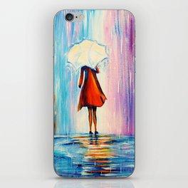 Under The Umbrella iPhone Skin