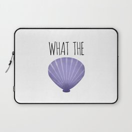 What The Shell Laptop Sleeve