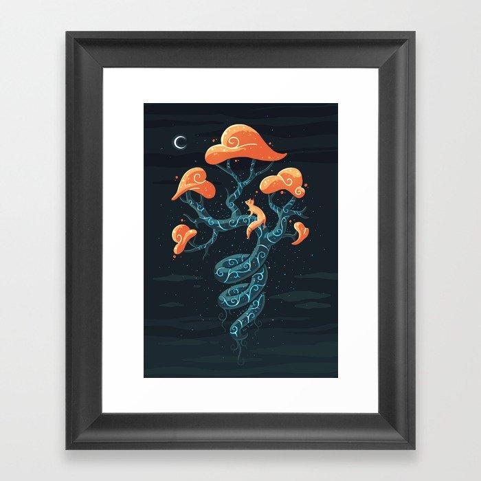 Magic Tree Framed Art Print