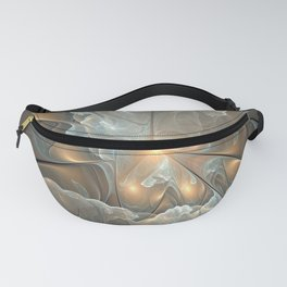 I had a dream, Abstract Fractal Art Fanny Pack