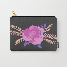 Hard pink Rose Carry-All Pouch