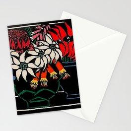 """Sturt's Desert Pea"" by Margaret Preston Stationery Cards"