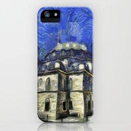 Istanbul Mosque Van Gogh iPhone Case