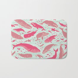 Whales Gathering I  Bath Mat