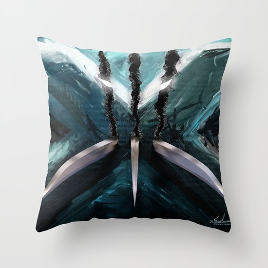 Mutant Canvas....X-Men Throw Pillow