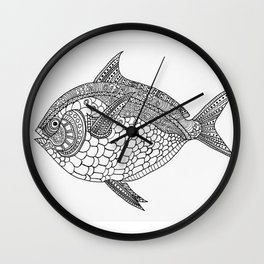 Moonfish Wall Clock