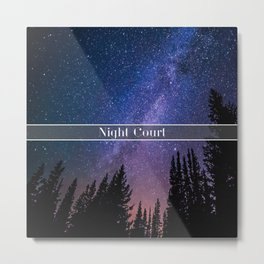 Night Court Metal Print