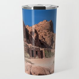 Sandstone Cabins Travel Mug