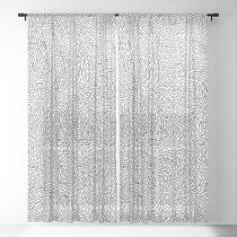 Turbulence 19 Sheer Curtain
