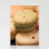 macaron Stationery Cards featuring MACARON  by Ylenia Pizzetti