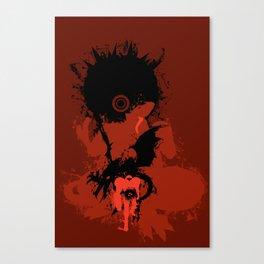 Battle for Planet Zebes Canvas Print