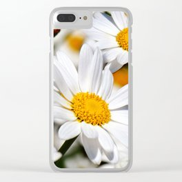 Daisy Flowers 0136 Clear iPhone Case
