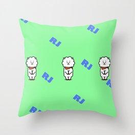BTS Jin BT21 RJ Throw Pillow