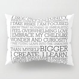 Entrepreneur Manifesto Pillow Sham