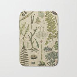Ferns And Mosses Bath Mat