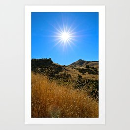 This Idaho Sun Art Print