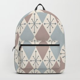 Diamonds and Starbursts Powder Backpack