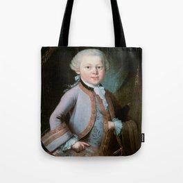 Wolfgang Amadeus Mozart (1756 -1791) by Barbara Krafft (1819) Tote Bag