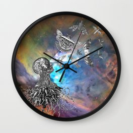 It was an act of love that created the things that control us. Wall Clock