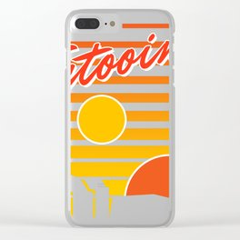 Tatooine travel Clear iPhone Case