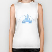 library Biker Tanks featuring The Library  by bookwormboutique