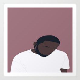Kendrick Lamar Portrait Art Print