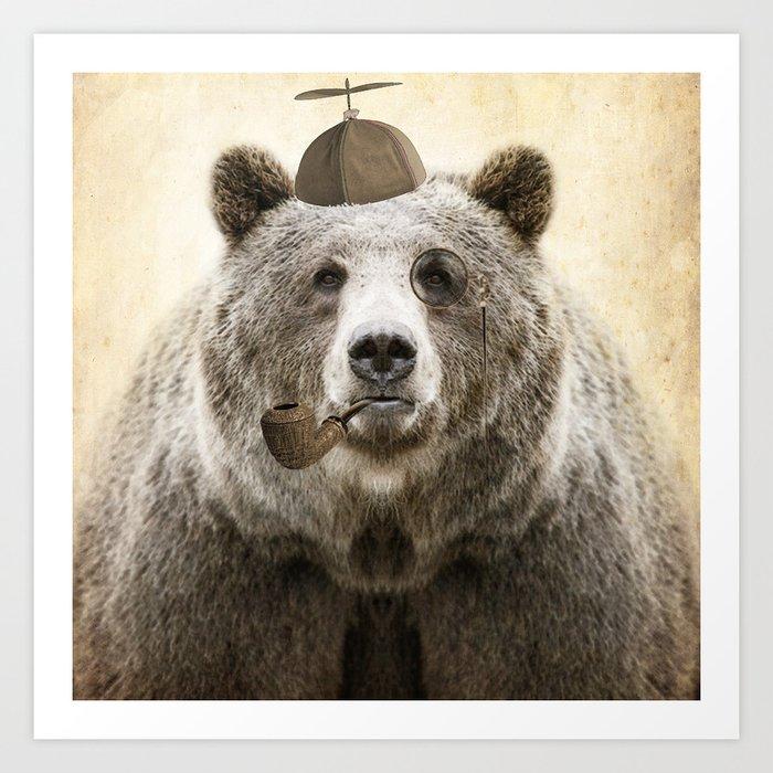 Bear Necessities Art Print