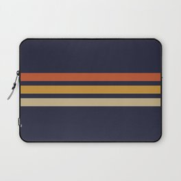 Vintage Retro Stripes Laptop Sleeve