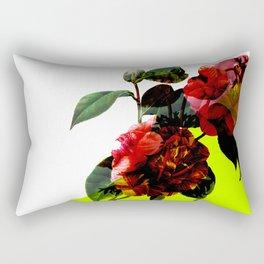 Vintage Blooms /Neon Wedge Rectangular Pillow