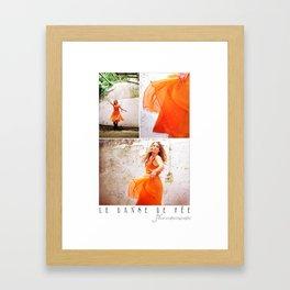 Le Danse De Fée Framed Art Print