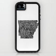 Typographic Arkansas Adventure Case iPhone (5, 5s)