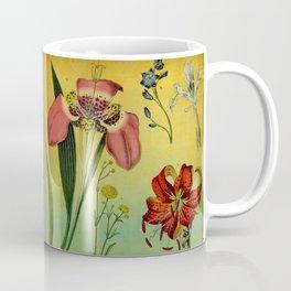 Lily & Iris Coffee Mug