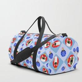 Christmas Ball Cats Duffle Bag