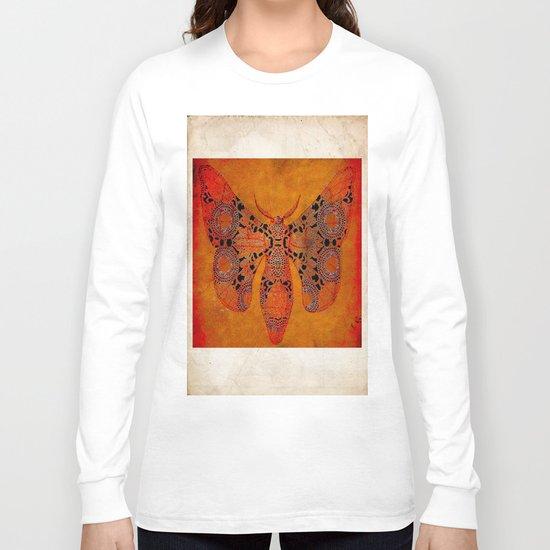 """Le papillon"""" Belle époque """" Long Sleeve T-shirt"""