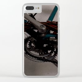 Bicycle Gears Clear iPhone Case
